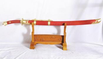 Tradycyjne chińskie miecze chińskie szable Qing miecze Qing Dao tanie i dobre opinie everythingwushu Kung fu WSQD37