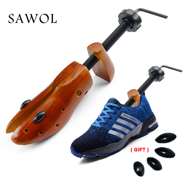 Shoe Tree 1 Pair Wooden For Men And Women Shoes Expander Shoe Stretcher Shoes Width And Height Adjustable Shaper Rack Sawol-in Shoe Trees from Shoes