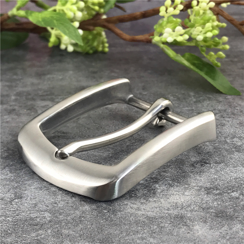 Stainless Steel Belt Buckles For Men Belt DIY Garment Accessories Leather Craft Buckle Belt Men's Waist Buckle For Belt SK0010