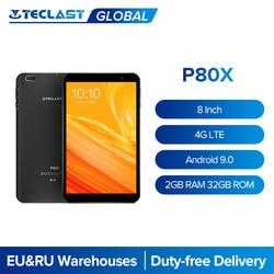 Teclast P80X 8 ''планшет подключается к сети 4G и вызова A55 64 бит Octa Core Android 9,0 1280x800 2 Гб Оперативная память 32GB Встроенная память Планшеты двухслойный ч...