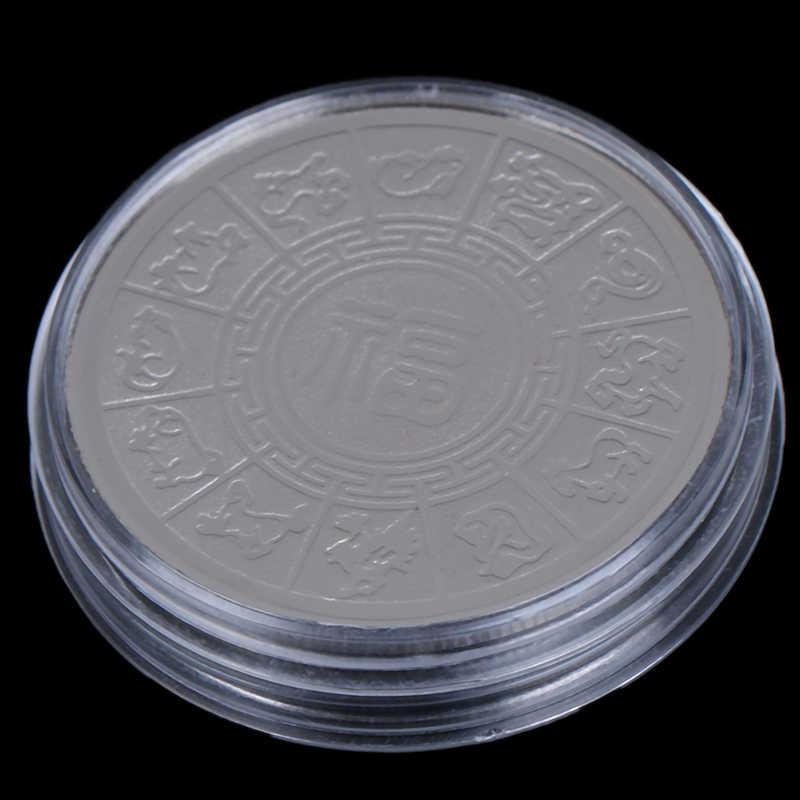 Souvenir 2020 Rat Anno Commemorativo Moneta Zodiaco Cinese Non-valuta copia Monete Collezione D'arte Oro/Argento Placcato