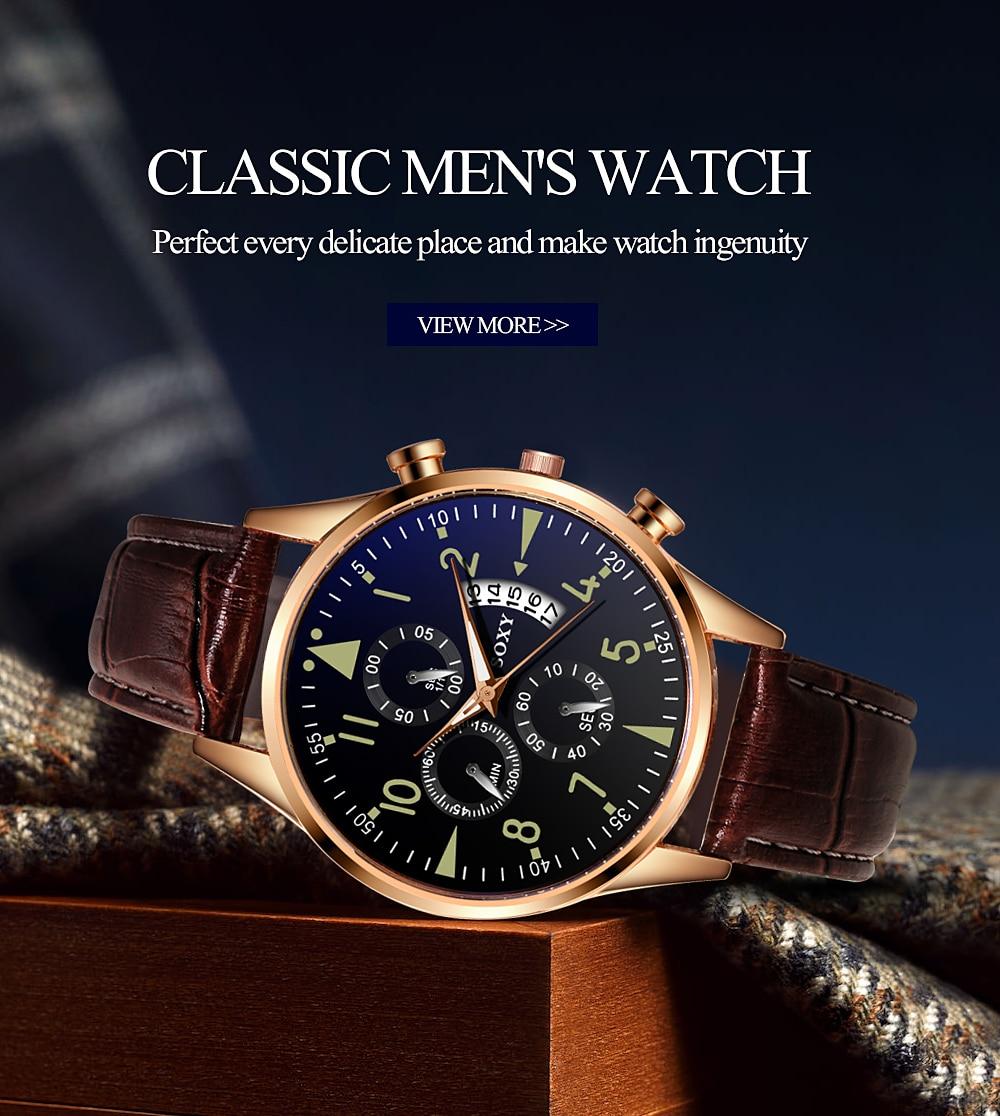 H80fc0d149c0f4c93bcfabdf28df4a4f85 Men's Watch 2019 Top Brand Luxury Luminous Date Clock Sports Watches Men Quartz Casual Wrist Watch Men Clock Relogio Masculino