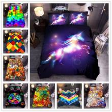 New hot sale luxury double king size quilt cover, bedding color abstract geometric quilt cover pillowcase without linen set