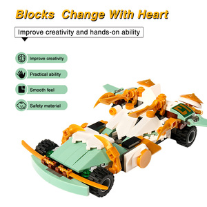 Image 3 - 4IN1ロイドタイタンメカninjagoed ninjagoedと互換性教育ビルディングブロックレンガ男の子子供のおもちゃのギフト