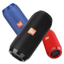 Haut-parleur Bluetooth Portable, sans fil, colonne de basses, étanche, pour l'extérieur, USB, Support AUX, TF, caisson de basses, Radio FM