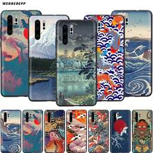 Webbedepp Japanse Stijl Art Japan Case Voor Huawei Honor 6A 7A 7C 7X8 8X 8C 9 9X10 20 Lite Pro Note View(China)