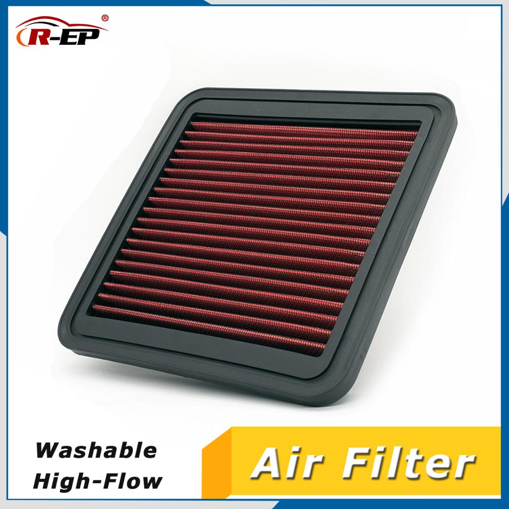 R-EP Cold Air Filter Replacement Car Sports Fit for Subaru Forester Impreza Liberty Tribeca WRX STI XV High Flow Intake Filters