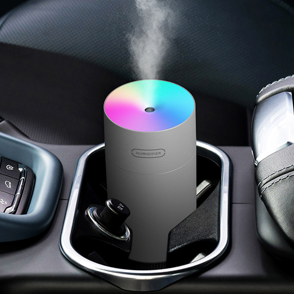 Humidificador de aire, difusor de aceite, Usb MINI, 270ML, generador de niebla de luz romántica ultrasónica, purificador de aromaterapia para el hogar y el coche 6
