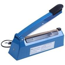 220V 300W 8 Inch Impulse Sealer Heat Sealing Machine Kitchen Food Sealer Vacuum Bag Sealer Bag Packing Tools Eu Plug цена и фото