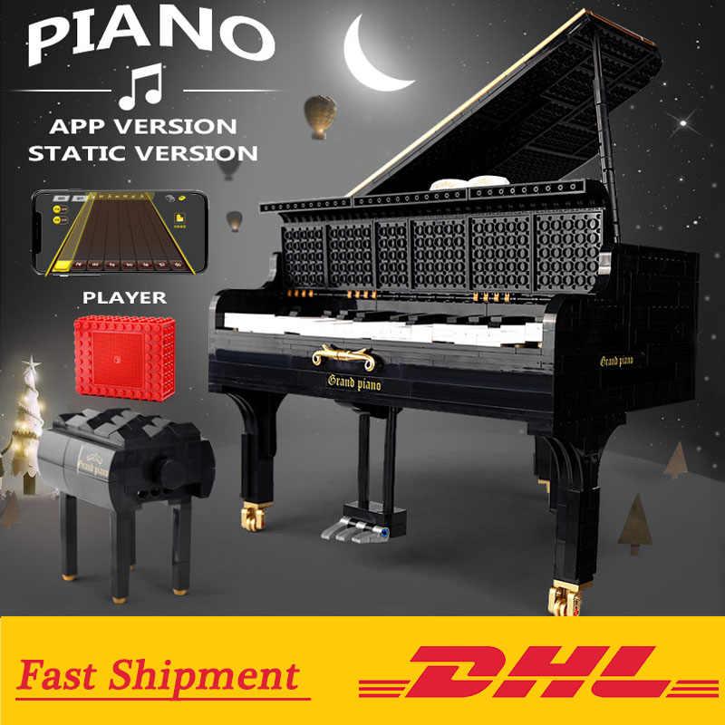 Il Creatore Pianoforte set mit Motore Compatibile wih Legoings MOC-16561 Blocchi di Costruzione Giocattoli Ragazze Regalo Di Compleanno