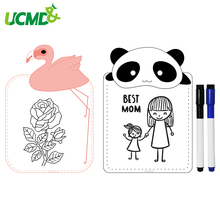 Magnetic Animal Drawing Toys Erasable Doodle Writing Painting Memo To do list WhiteBoard Fridge Stickers Decor For Kids Toy A5