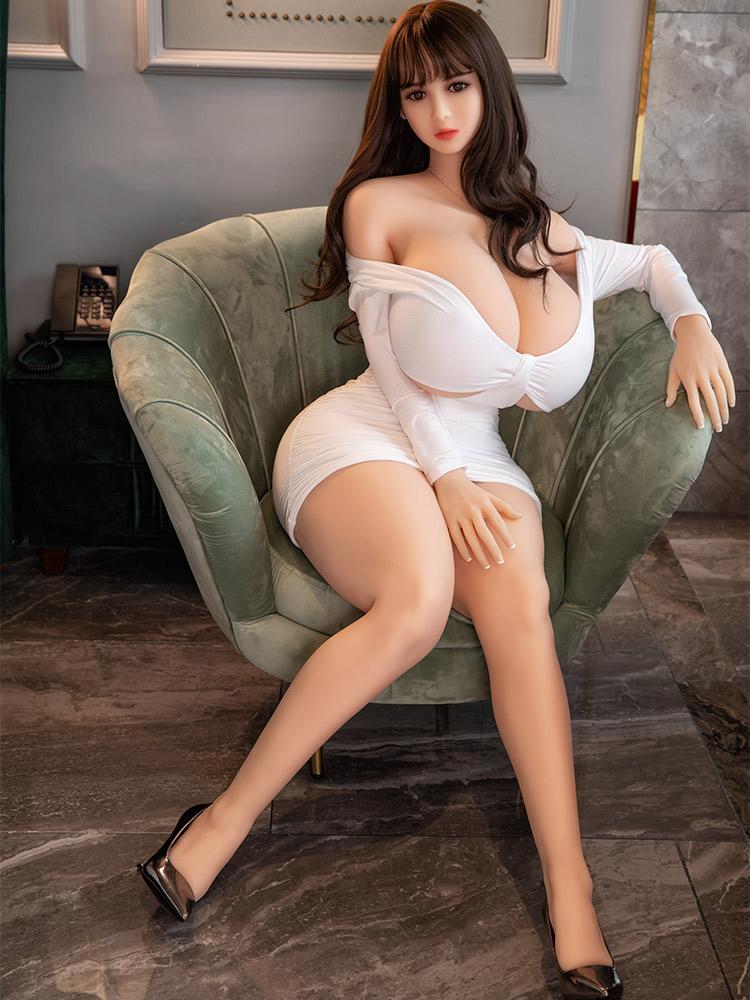 H80fded897d404d7f8c059083dfd58e44q Hanidoll-Muñeca sexual de 164cm para hombres adultos, juguetes para sexo, TPE, coño realista, Real, gran trasero, pechos grandes, productos sexuales