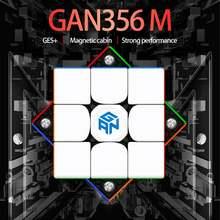 Gan356 m 3x3x3 магический Магнитный куб без наклеек gan356m