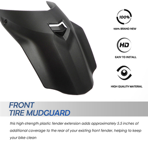 Image 4 - For BMW r1200gs lc r1250gs adv Rear Front Fender Mudguard Adventure Fender Forward Splash Guard For R 1200 GS Motorcycles Parts