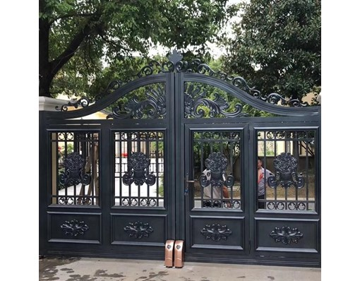 Front Entry Simple Iron Main Gate Grill Colour Designs For Farm House Design For Homes In Aluminium