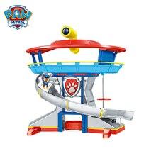 Paw Patrol Lookout Turm Hund Rettungs Basis Spielzeug Set Welpen Patrol Ryder Chase Anime Action figuren Modell Kinder Geburtstag Besten geschenk