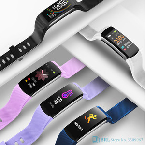 Image 3 - 2020ใหม่สมาร์ทนาฬิกาผู้หญิงผู้ชายอุณหภูมิSmartWatch Fitness Tracker Heart Rate Monitorนาฬิกาสมาร์ทสำหรับAndroid IOS