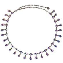 Danse du ventre bijoux fantaisie cristal strass ceinture danse du ventre taille chaîne