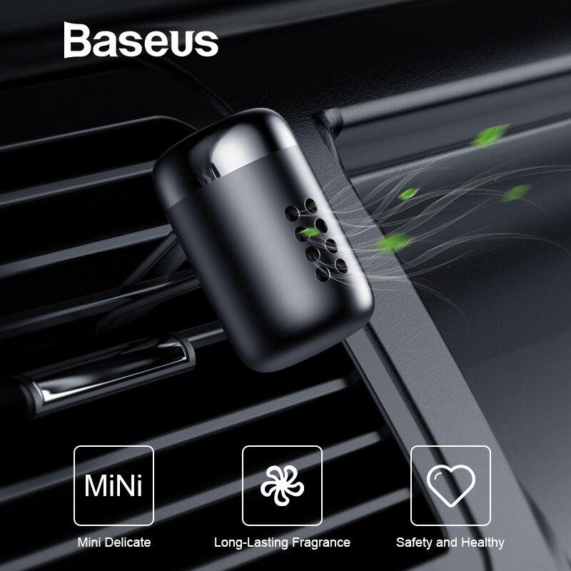 Baseus ambientador de aire de coche aromaterapia Auto salida de aire Perfume de larga duración Clip de fragancia de coche difusor sólido Perfume de coche