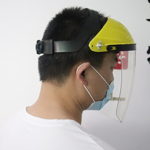 Image 2 - Anti Shock Protective Full Face Mask Welding Helmet Anti UV Clear Safety Anti Splash Shield Visor Workplace Protection Supplies