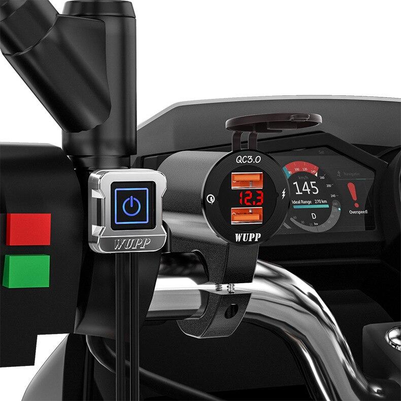 Купить алюминиевый сплав водонепроницаемый автомобильный мотоцикл мобильный