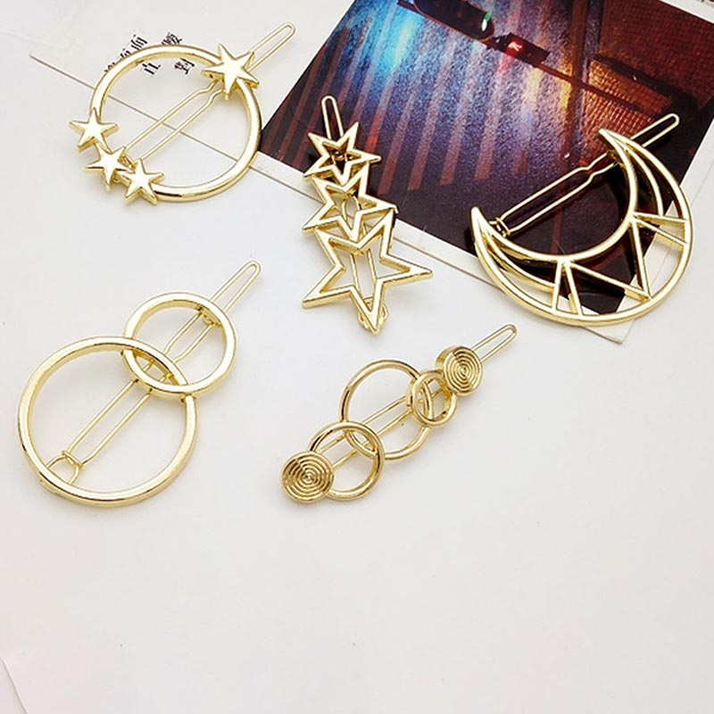 Fashion-Woman-Hair-Accessories-Triangle-Hair-Clip-Pin-Metal-Geometric-Alloy-Hairband-Moon-Circle-Hairgrip-Barrette (1)