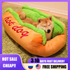 Hot Dog Bed various Size Large Dog Lounger Bed Kennel Mat Soft Fiber Pet Dog Puppy Warm Soft Bed House Product For Dog And Cat 1