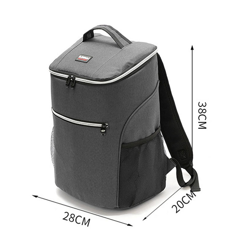 New Thicken Large Cooler Bag Portable Big Insulated Bags Thermal Backpack Delivery Bag Organizer Ice Pack Waterproof Food Bags image