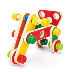 78Pcs Vielzahl Mutter Kombination Kind Form Kognitiven Demontage Pädagogisches Spielzeug