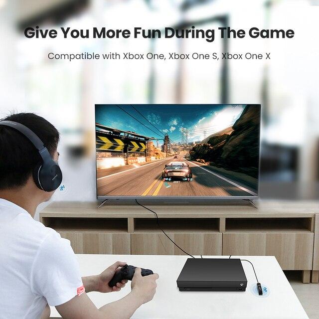 Ugreen Bluetooth 5.0 Transmitter TV Headphone PC APTX LL Digital Toslink Optical SPDIF Adapter Audio Music Wireless Transmitter