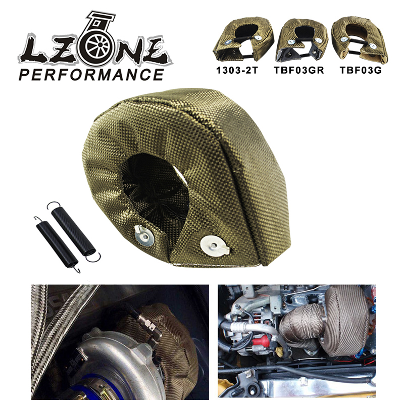 LZONE - 100% Full TITANIUM <font><b>turbo</b></font> heat shield <font><b>T3</b></font> <font><b>turbo</b></font> <font><b>blanket</b></font> fit : t2 t25 t28 gt28 gt30 gt35 and most <font><b>t3</b></font> <font><b>turbo</b></font> JR1303-2T/TBF03 image