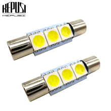 2x C5W C10W led Car light 28mm 29mm Interior Festoon Door Dome Reading Lamp 12V Vanity Mirror Sun Visor Lights Bulb