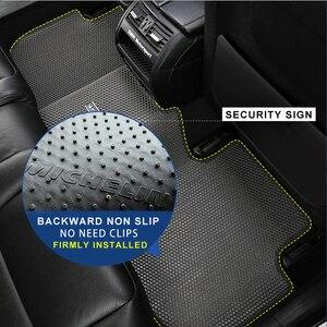 Image 5 - Honeycomb dual doppel schicht Design Auto Boden Matte Häute Schmutz EVA teppich für Toyota Crown Camry RAV4 Highlander LC200 Prado tundra