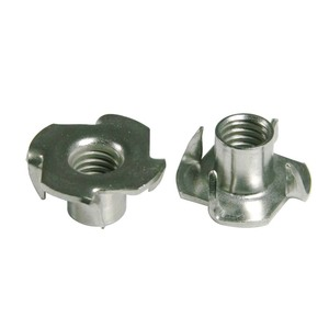 Image 2 - 304 Stainless Steel T Nut, 4 Prongs T Nut M6  9x19