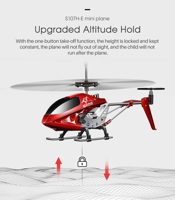 plein distance Drone S107H-E 3