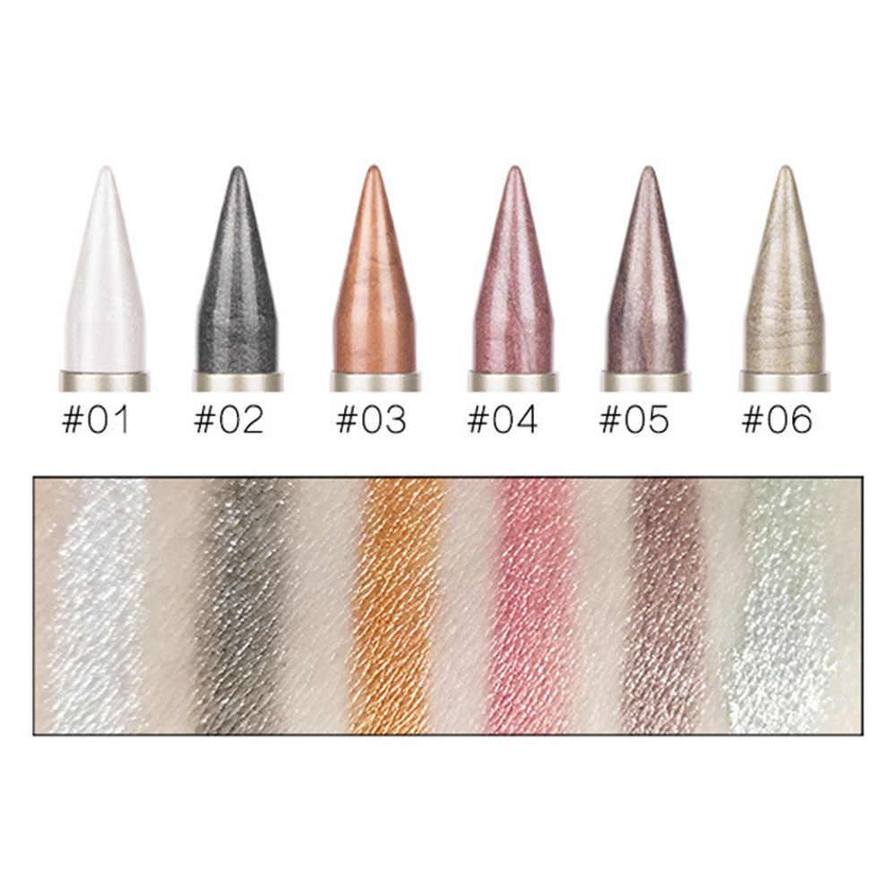 1 Pc Double extrémité 2 en 1 brillant brillant ombre à paupières étanche rapide sèche yeux Liner stylo maquillage des yeux outil cosmétique Maquiagem TSLM1