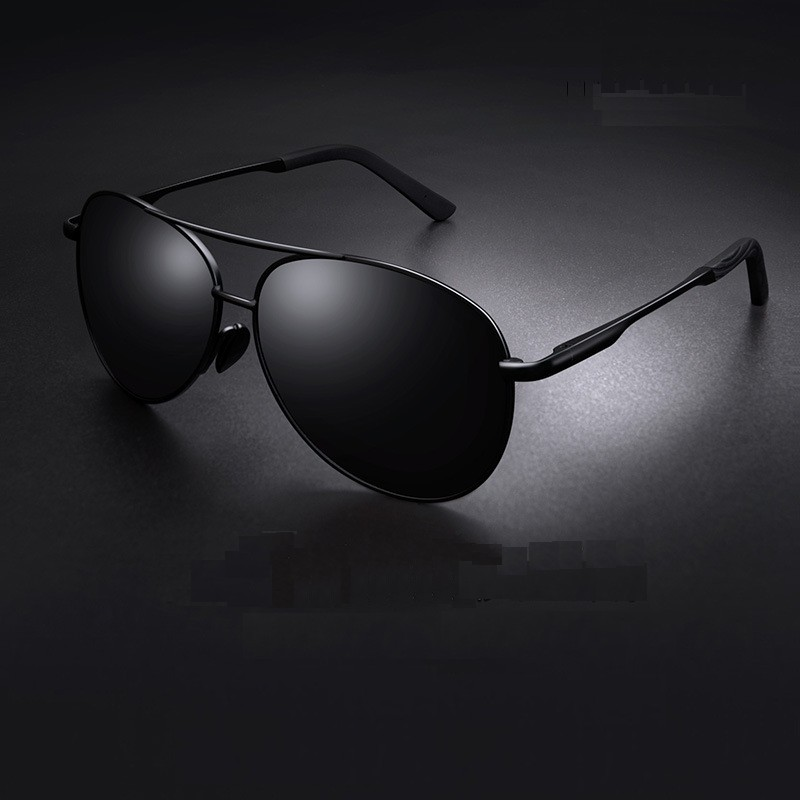 Aviation Metail Frame Polarized Sunglasses Men Color Changing Sun Glasses  Pilot Male Day Night Vision Driving
