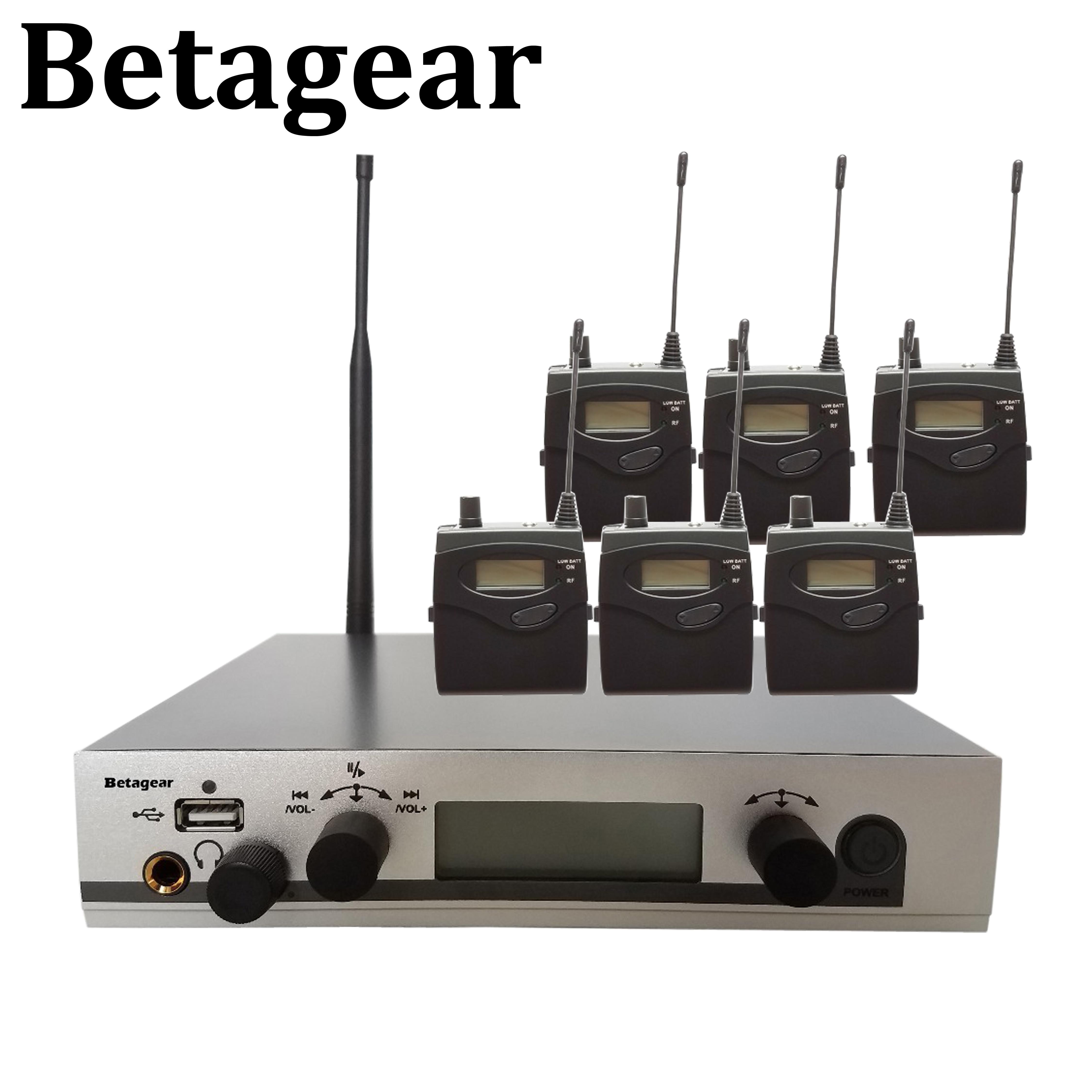 System monitorowania dousznego Betagear 300IEM G3 SR300 IEM osobisty Monitor bezprzewodowy System w uchu Monitor systemu audio profesional