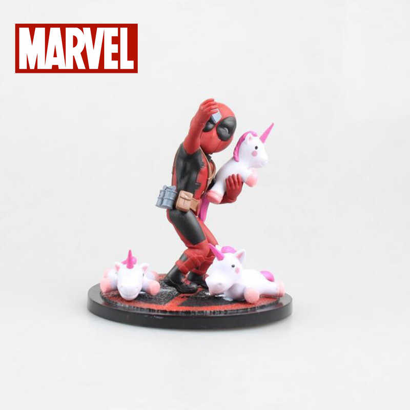 Deadpool maravilha figura de Ação modelo figuras boneca dos desenhos animados brinquedos 10.5 centímetros colleciton toy kids presente de Natal PVC
