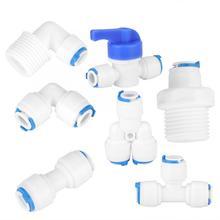 PE Соединительный шов трубы для воды очиститель воды фильтр фитинги трубы