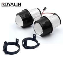 ROYALIN Bi Xenon Nebel Licht Projektor Objektiv für Mazda 3 6 CX5 Axela Atenza 2.5 Full Metall H11 hid lampen Auto Styling 4300K 5000K