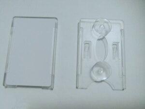 Image 2 - 品質 uhf rfid カード吸盤吸引ホルダーステッカーフロントガラス uhf カードホルダー車車ガラスタグのため駐車制御アクセス