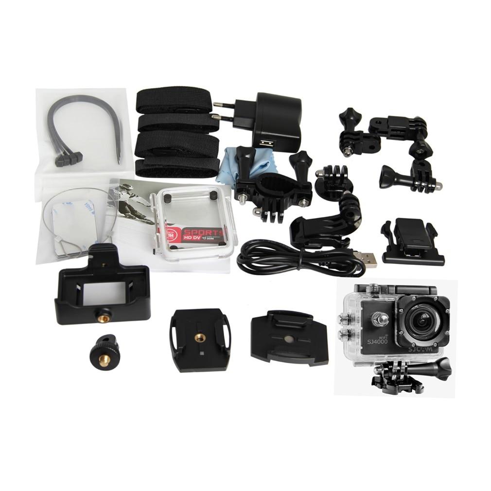 Smart Compact 1.5 Inch Lcd Wifi 1080p Full Hd Digital Outdoor Sports 170 Degree Waterproof Helmet Camera Sj4000