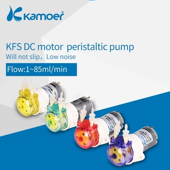 цена на Kamoer KFS Persitaltic Water Pump 6v/12v/24v with Reduction Gear, Low Flow Rate Water Pump, 4 Color