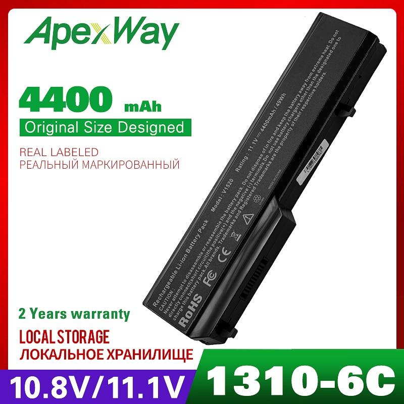 4400mAh Battery For DELL Vostro 1310 1320 1510 1520 1521 2510 K738H 0K738H 0N950C G274C K738H N950C N956C N958C T112C T114C