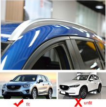 OE roof rail roof rack roof bar for Mazda old CX 5 2013 2014 2015 2016,oxidized aluminum, upgrade car appearance, very beautiful