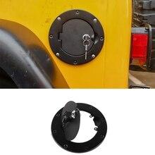 Крышка бака для Jeep Wrangler TJ автомобильный масляный топливный бак крышка с ключом замок крышка для 1997-2006 Jeep Wrangler TJ автомобильные аксессуары