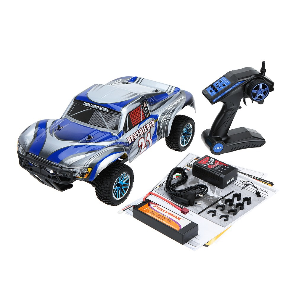 HSP 1/10 Rc voiture 4WD hors route rallye court Course camion RTR similaire REDCAT HIMOTO Course (article no 94170/PRO/TOP)