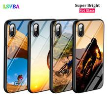 Black Cover Fashion bike Bicycle for iPhone X XR XS Max for iPhone 8 7 6 6S Plus 5S 5 SE Super Bright Glossy Phone Case black cover japanese samurai for iphone x xr xs max for iphone 8 7 6 6s plus 5s 5 se super bright glossy phone case