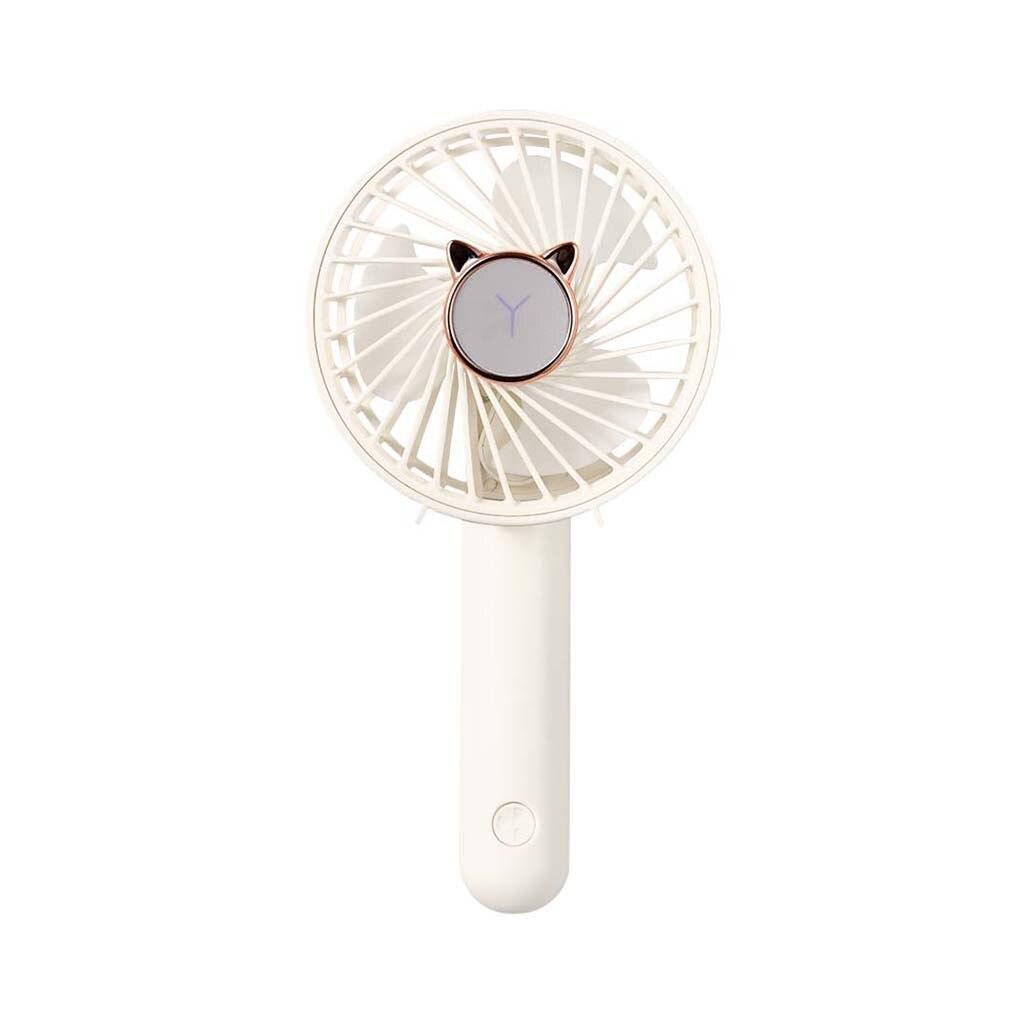 Ventilador portátil plegable de mano ventilador de carga Usb Velocidad Ajustable 3 velocidades colgante multifunción Mini ventilador de carga recargable # g30|fanáticos|   - AliExpress